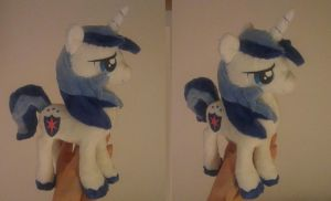 Shining armor plush by Epicrainbowcrafts