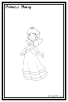 Daisy -Lineart- by GamingGirl73