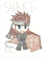 Chibi Snake by KaishySaiyanPrincess
