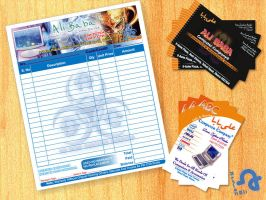Visiting cards by shahjee2