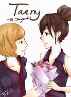 Taeny... by FaithzSone