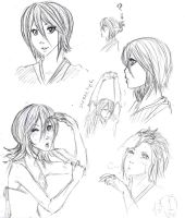 Rukia's New Do by Lendra-chan