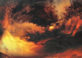 When my world burns by Leoncio-Harmr