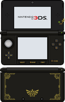Nintendo 3DS [Ocarina of Time] by BLUEamnesiac