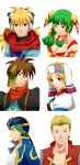 GRANDIA Character Bust up illustrations by mievol3333