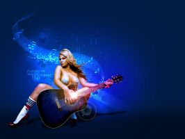 The Guitarist by owdesigns