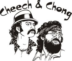 cheech chong by thulthix