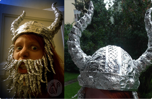 Tin Foil Viking by Nymla