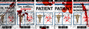 Scary Medical Badges by Doggy-san