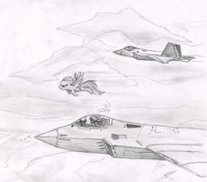 Atmospheric Fighters by metalfoxxx