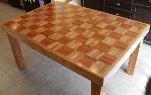 Family-Made Table Refinishing #5 by Hearte42