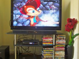 SatAM DVD SET + HDMI CABLE + BLU-RAY PLAYER ='s AW by bvw1979