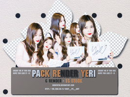 [ SHARE PNG ] PACK RENDER YERI - RED VELVET by NhiofHThi