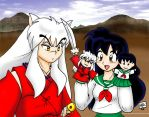Inuyasha - Puppet Show COLORED by vixielamenta