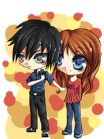 Request: Chibi Bodyguard by Kamikaze-Kaito