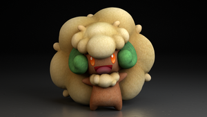 #547. Whimsicott by TheAdorableOshawott