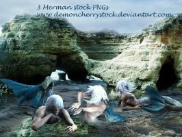 Merman Stock Pack by DemoncherryStock