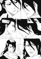 Byakuya Kuchiki Collage by KaichouAngel