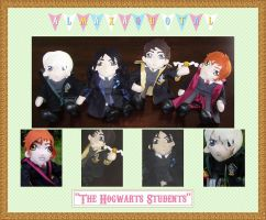 Hogwarts Students by almaxaquotal