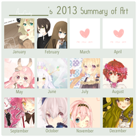 2013 Art Summary by AmaiCandy