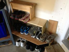 Shoe Rack by Bwabbit