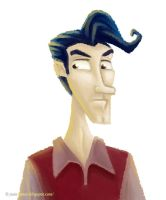 A Serious Guy by juanbauty