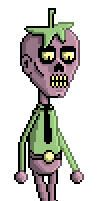 Pixel Zomberry by misterkitsch