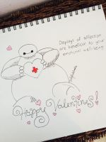 Happy Valentine's Day! by DailyDoodleNoodle