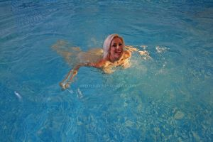 Naked swim 1 by Singingnaturist