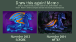 Meme: Before and After (2013-2014) by Havurasmanar