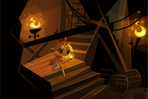 Into the Hideout by Sprits