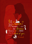 Captain Swan typography by StarFashionista10