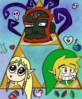 Triforce of Stupid by zeldaholic135