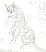 Tatoo Cat by ShadowOrder7
