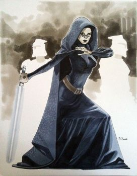 Barriss Offee - Comic Con Paris 2012 by MahmudAsrar