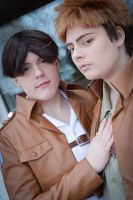 Jean Kirschtein and Marco Bodt - Military. by Millahwood