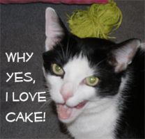 Why yes, I love cake by UnholyScroll