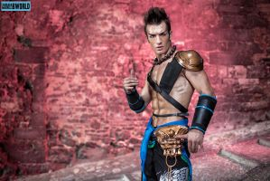 Action Time - Jann Lee Dead or Alive 5 Cosplay by LeonChiroCosplayArt