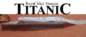 RMS TITANIC UPDATE MODEL by MarKZ92