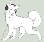 headphones wolf - makeable by Jahzz