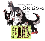 entertaining offers on grigori by Luce-foxeh
