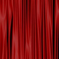Red Curtain Texture - Stock by OghamMoon