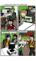 Throwback Thursday Comic - #1 Woes Of A Gavin Free by MrNinja3322