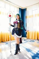 Steampunk Sailor Pluto II by monochrome-tea
