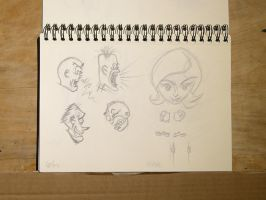 Sketches_Doodles_2015_11 by CiNiTriQs