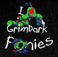 I heart grimdark ponies by Mel-the-shadow-lover