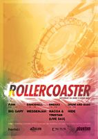 Rollercoaster Poster by snaxnz