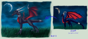 Improvement - Cynder by Kabiff