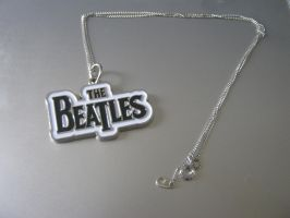 My Beatles necklace by Cygnus-X-2