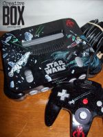 Star Wars Boba Fett Custom Nintendo 64 by CreativeBoxGaming